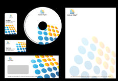 Business design Template royalty free illustration