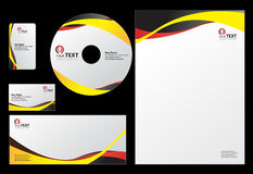 Business design Template Royalty Free Stock Images