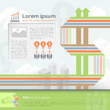 Business Design Template Layout Royalty Free Stock Photos