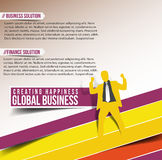 Business Design Template Royalty Free Stock Image