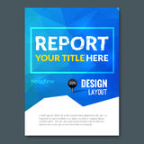 Business design triangle colorful background. Pins and graph infographic, cover magazine, report template vector Royalty Free Stock Photos