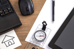 Business Desk Royalty Free Stock Image