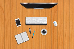 Business desk Royalty Free Stock Images