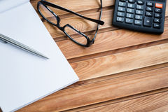 Business Desktop - Office Objects Stock Photography