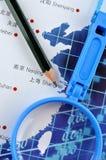 Business developing plan Stock Photos