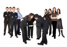 Business developing team Royalty Free Stock Photo