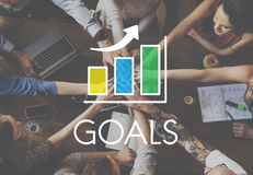 Business Development Growth Bar Chart Concept Stock Photo