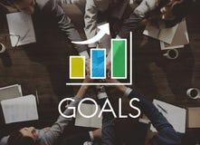 Business Development Growth Bar Chart Concept Stock Image