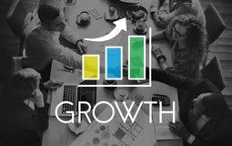 Business Development Growth Bar Chart Concept Stock Photography