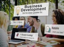 Business Development Growth Success Improvement Conept Stock Photo