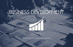 Business Development Startup Growth Statistics Concept Stock Photos