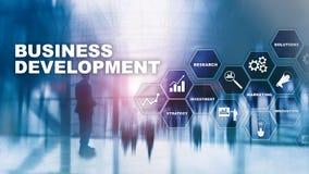 Business Development Startup Growth Statistics. Financial Plan Strategy Development Process Graphic Concept. Business Development Startup Growth Statistics stock photos