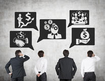 Business development strategy Stock Image