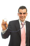 Business diagnosis Royalty Free Stock Image