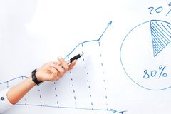 Business diagram Stock Photography