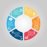 Business Diagram circle Stock Images