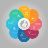 Business Diagram circle Stock Photos