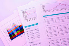 Business diagrams Stock Images