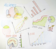 Business diagrams Stock Photos