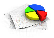 Business diagrams Stock Photo