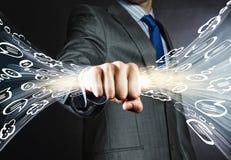 Business dialogues Stock Photos