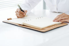 Business diary Royalty Free Stock Images