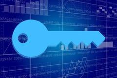 Business and digital technologies illustration. Stock Photos