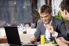 Business dinner Royalty Free Stock Photography