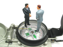 Business direction Stock Image