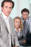 Business director Stock Image