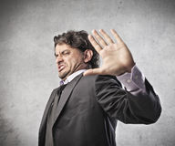 Business Disagreement Stock Image
