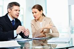 Business discussion Stock Photos