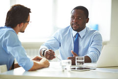 Business discussion Stock Photography