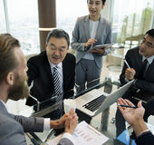Business Discussion Meeting Presentation Briefing Concept Royalty Free Stock Images