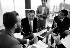 Business Discussion Meeting Presentation Briefing Concept Stock Photography