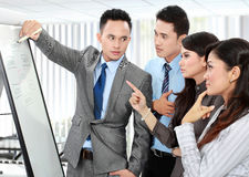 Business discussion in the office Royalty Free Stock Photo