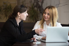 Business discussion Royalty Free Stock Images