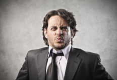 Business Disgust stock photography
