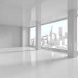 Business District. New Business District - 3d illustration stock illustration