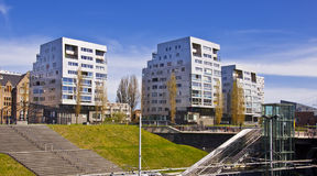 Business district of Amsterdam Stock Photography