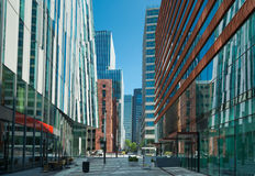 Business district Royalty Free Stock Photography