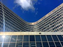 Business district in Brussels, Belgium Royalty Free Stock Photos