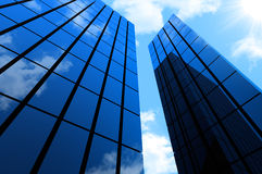 Business district building Royalty Free Stock Image