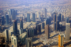 Business District Of Doha Stock Photo