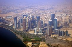Free Business District, Doha, Qatar Stock Images - 10415534