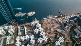 Business District of Hong Kong Royalty Free Stock Photos