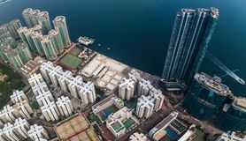 Business District of Hong Kong Stock Images