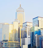Business district of Hong Kong Royalty Free Stock Photography