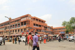 Business district of Jaipur Stock Photography