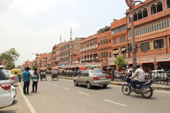 Business district of Jaipur Royalty Free Stock Photo